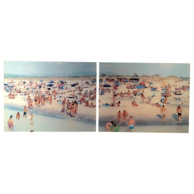 Massimo Vitali Diptych Limited Edition - Image 1 of 5