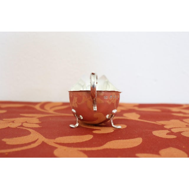 Mid-Century Modern 20th Century Sterling Silver Gravy or Sauce Boat, Dublin, 1906s For Sale - Image 3 of 7