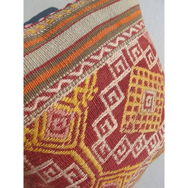 Kilim Rug Pillow For Sale - Image 10 of 11
