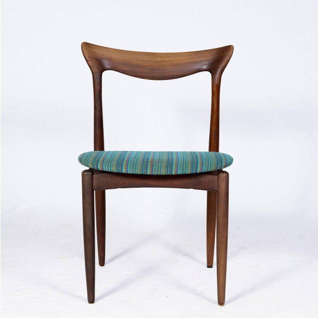 Contemporary Set of Four Danish Dining Chairs For Sale - Image 3 of 10