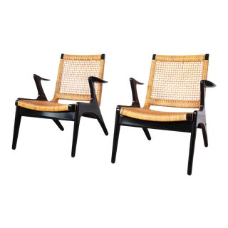 Kurt Østervig Danish Modern Lounge Chairs - a Pair For Sale
