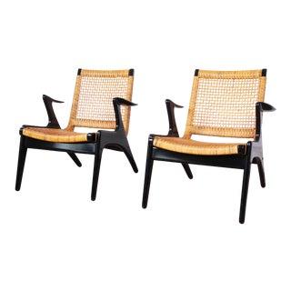 Kurt Østervig Danish Modern Lounge Chairs - a Pair For Sale
