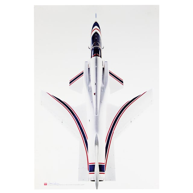 X-29 Aircraft Poster, Signed For Sale - Image 4 of 4