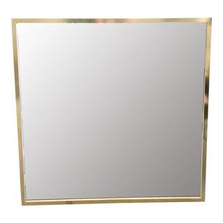 Large Square Mirror by Dalvera, Italy