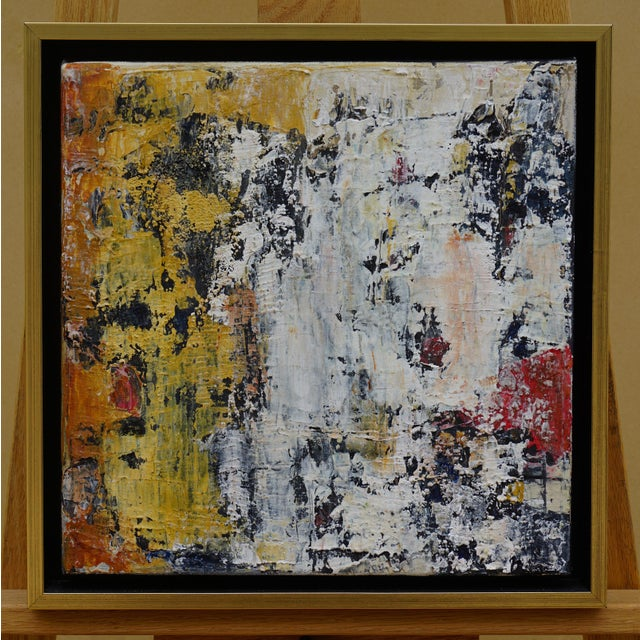 """2010s Laurie MacMillan """"Wall Wabi Sabi"""" Abstract Painting For Sale - Image 5 of 5"""