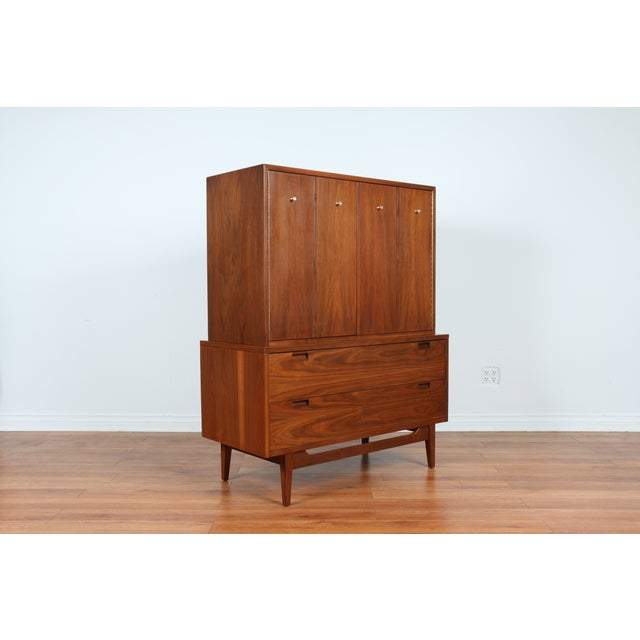 Highboy Dresser by American of Martinsville - Image 8 of 9