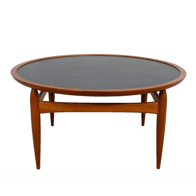 Danish Modern Teak Finn Juhl Style Reversible Coffee Table - Image 2 of 10