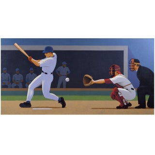 Strike Three Painting by Lynn Curlee For Sale