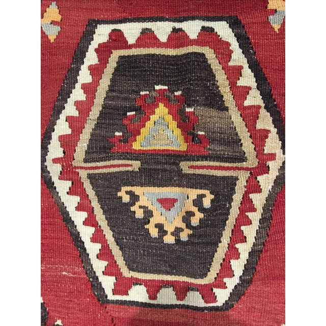 1920s Turkish Kilim - 8′1″ × 11′9″ - Image 7 of 8