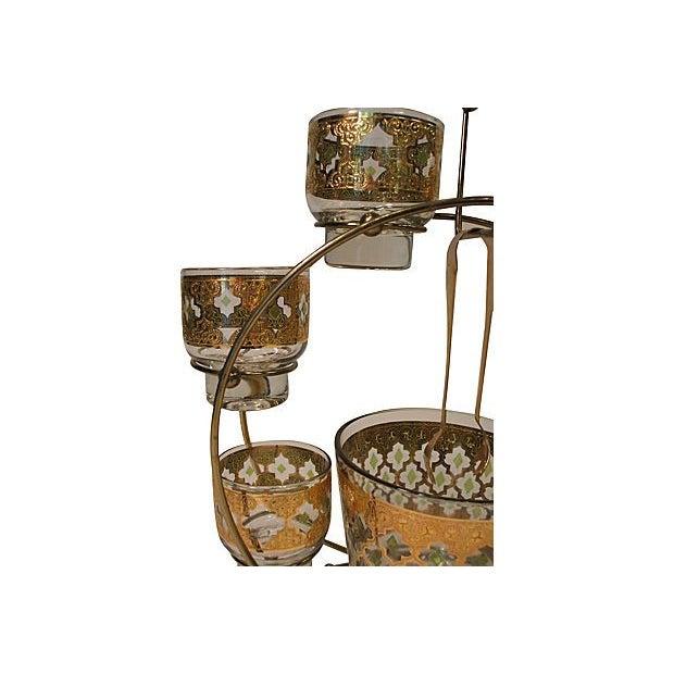 Vintage Culver Cocktail Set & Stand - Image 4 of 6