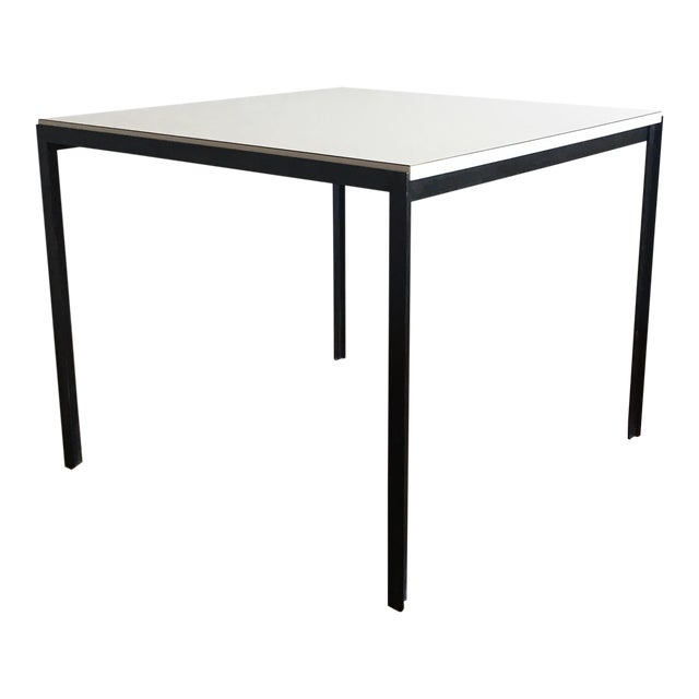 1960s Vintage Florence Knoll T-Angle Dining Table For Sale