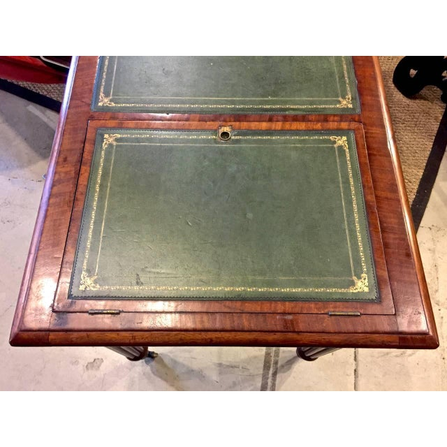Early 19th Century Regency or William IV Writing Table/Desk with Book Stand For Sale - Image 5 of 10