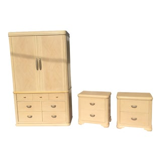 """1900s Modern Century Furniture """"Cashmere Collection"""" - 3 Pieces For Sale"""