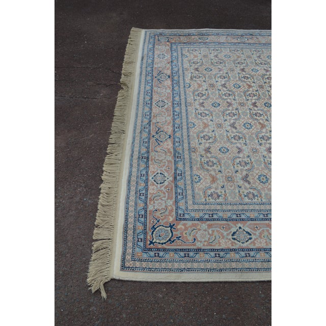 "Karastan #789 Herati 8'8"" x 12' Room Size Rug For Sale - Image 11 of 13"