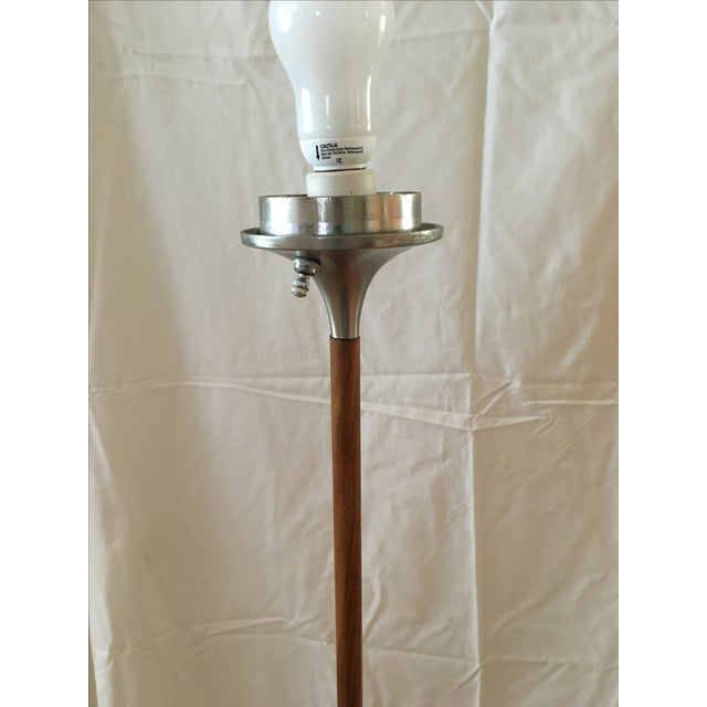 Laurel Mid-Century Mushroom Floor Lamp For Sale - Image 6 of 8