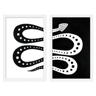 "Medium ""Moon Pie, Set of 2"" Print by Willa Heart, 26"" X 20"" For Sale"