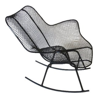 Russell Woodard Welded Wire Rocker in the Style of Eames