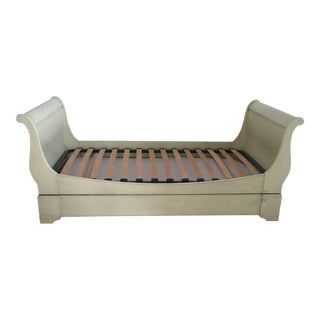Grange Unique Twin Sleigh Bed - With Trundle Bed For Sale