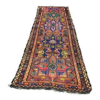 Vintage Anatolian Runner Rug - 3′8″ × 11′4″