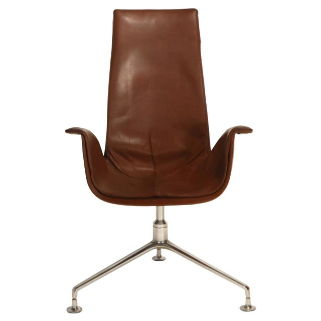 Fk 6725 'Bird' Chair by Preben Fabricius and Jorgen Kastholm for Alfred Kill For Sale - Image 13 of 13