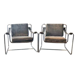 1970s Vintage International Tubular Chairs - a Pair For Sale