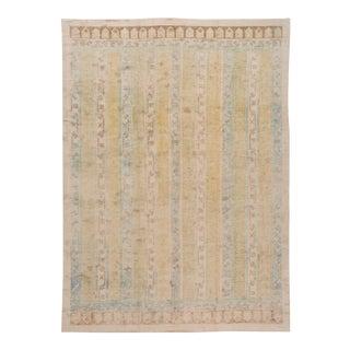 21st Century Modern Oushak Wool Rug For Sale