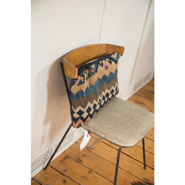 Antique Kilim Throw Pillow For Sale - Image 4 of 7