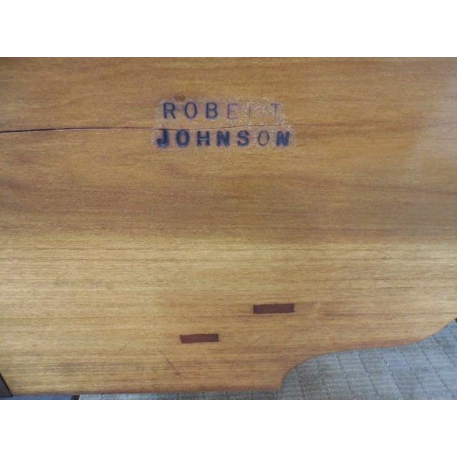 Robert Johnson Bucks County Solid Walnut Lowboy - Image 5 of 10