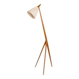 """1960s Uno & Östen Kristiansson Mid-Century """"Giraffe"""" Floor Lamp by Luxus, Sweden For Sale"""