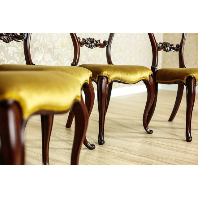 19th Century Louis Philippe Mahogany Chairs Circa 1880 - Set of 4 For Sale - Image 6 of 8
