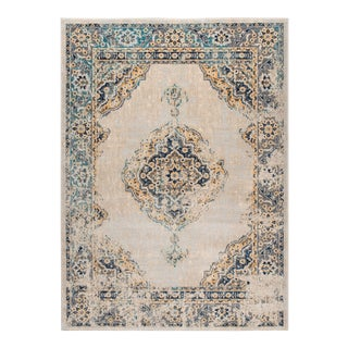 Journey Yadira Traditional Oriental Area Rug - 5' x 8' For Sale