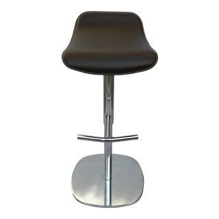 Modern Contemporary Italian Adjustable Bar Stool For Sale