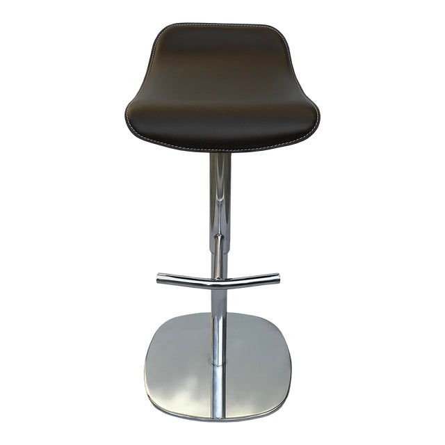 Remarkable Modern Contemporary Italian Adjustable Bar Stool Ibusinesslaw Wood Chair Design Ideas Ibusinesslaworg