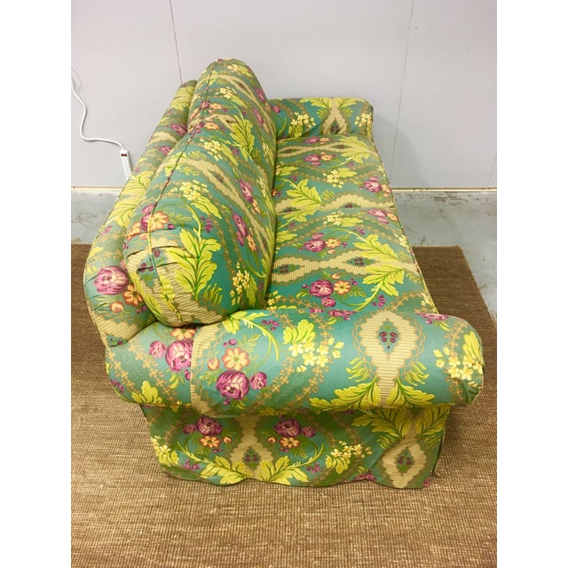 Clarence House 21st Century Clarence House Floral Print Down Sofa For Sale - Image 4 of 6