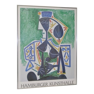 "Picasso ""Hamburger Kunsthalle"" Exhibition Poster"