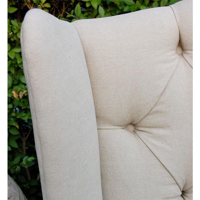 Early 21st Century Wing Back Sofa For Sale - Image 5 of 9
