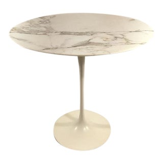 Saarinen Oval Side Table For Sale