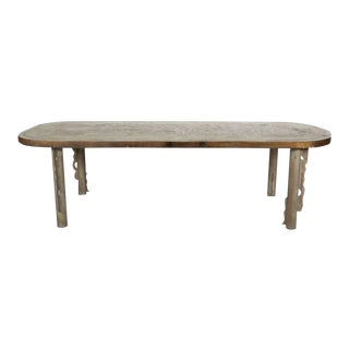 Philip and Kevin Laverne Table With Figural Roman Motif, 1960s