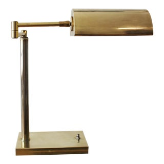 1970s Brass Task Lamp For Sale