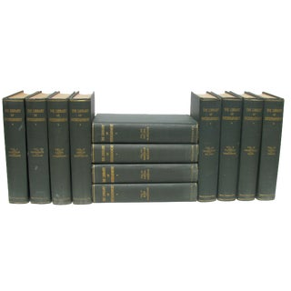 Library of Entertainment Book Collection C.1920, S/12 For Sale