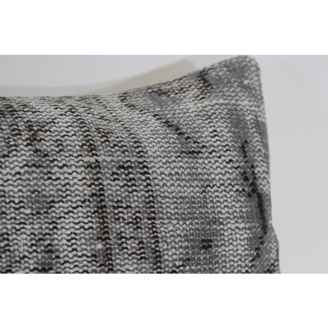 Vintage Gray Overdyed Pillowcase - Image 2 of 4