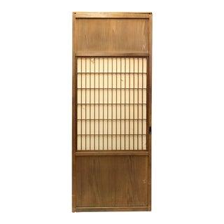 Japanese Sugi Cedar Shoji Door For Sale