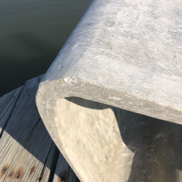 Concrete 1960s Mid Century Guhl Wasler Cement Garden Stools - a Pair For Sale - Image 7 of 10