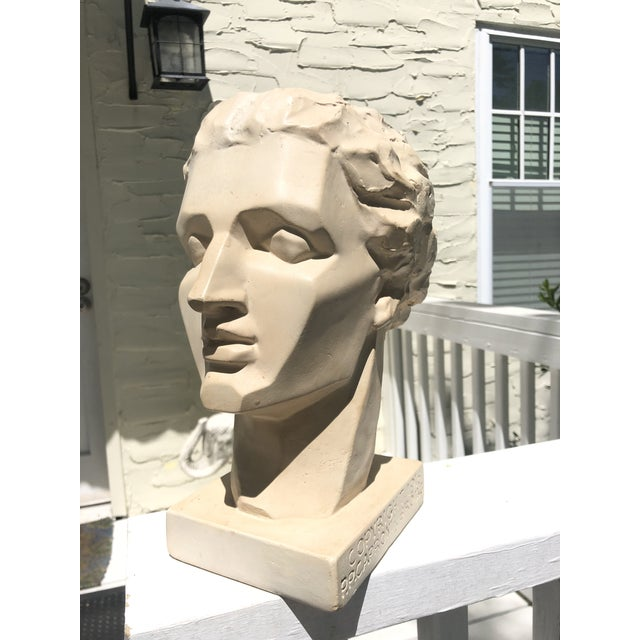 Mid 20th Century Mid 20th Century Vintage Caproni Brothers Plaster Sculpture For Sale - Image 5 of 7