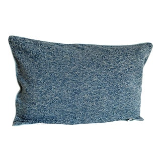 Mid-Century Modern Blue Corduroy Pillow Covers - a Pair For Sale
