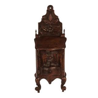 Walnut Salt Box, France circa 1840 For Sale