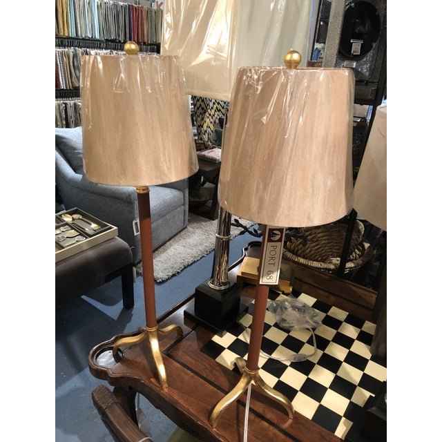 Port 68 Portobella Buffet Lamps - a Pair For Sale - Image 4 of 9