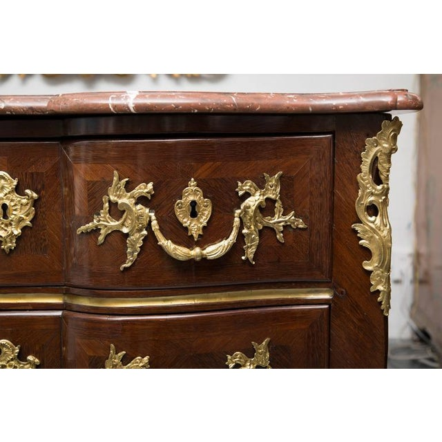 18th Century French Louis XV Kingwood Commode - Image 8 of 8