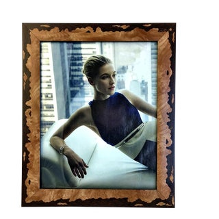 Vintage Abstract Inlay Picture Frame For Sale