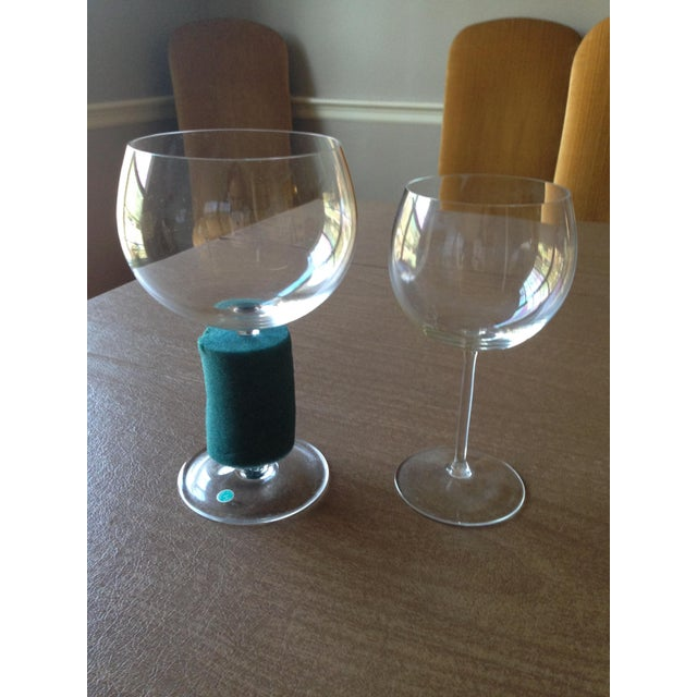 4e983cff4dd1 Glass Tiffany   Co. Montrachet Burgundy Wine Glasses - Set of 6 For Sale